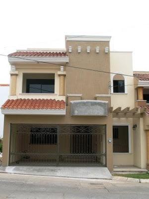 Fachadas mexicanas y estilo mexicano hermosa fachada for Fachada de casas modernas con balcon