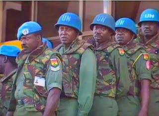 United Nations Peacekeepers in Rwanda Africa