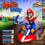 العاب سوبر ماريو في سباق السيارات