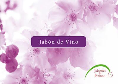Jabón artesano de vino