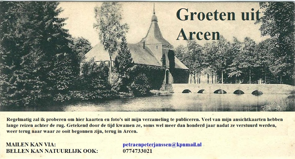 Groeten uit Arcen.