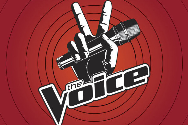 the voice logo. for The Voice live show,