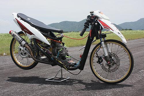 Modifikasi Motor Drag Mio