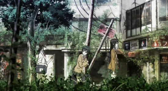 Recenzja anime Coppelion (2013). Studio GoHands.