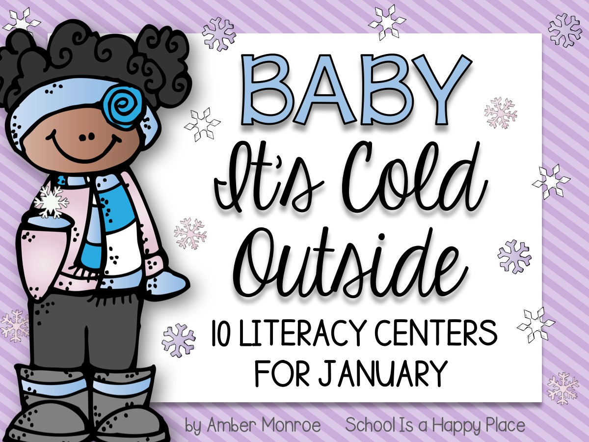 Literacy Centers for January