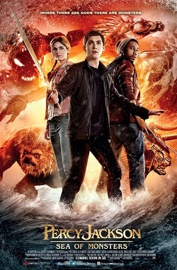 Percy Jackson: Sea Of Monsters 2013 poster