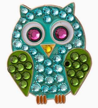 http://www.pinkgolftees.com/ladies-golf-accessories/ball-markers.html