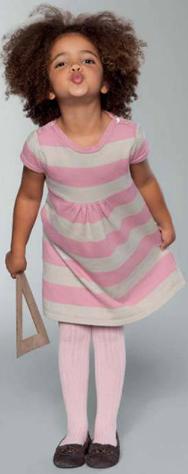 vestidos de punto niña