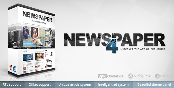 Download Newspaper 4.2.2 Wordpress Theme
