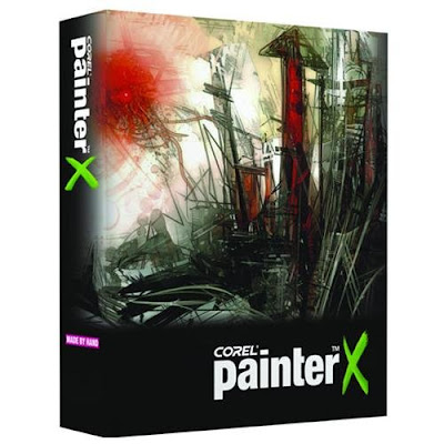 ����� ������ Corel Painter ����� Corel Painter X3.jpg