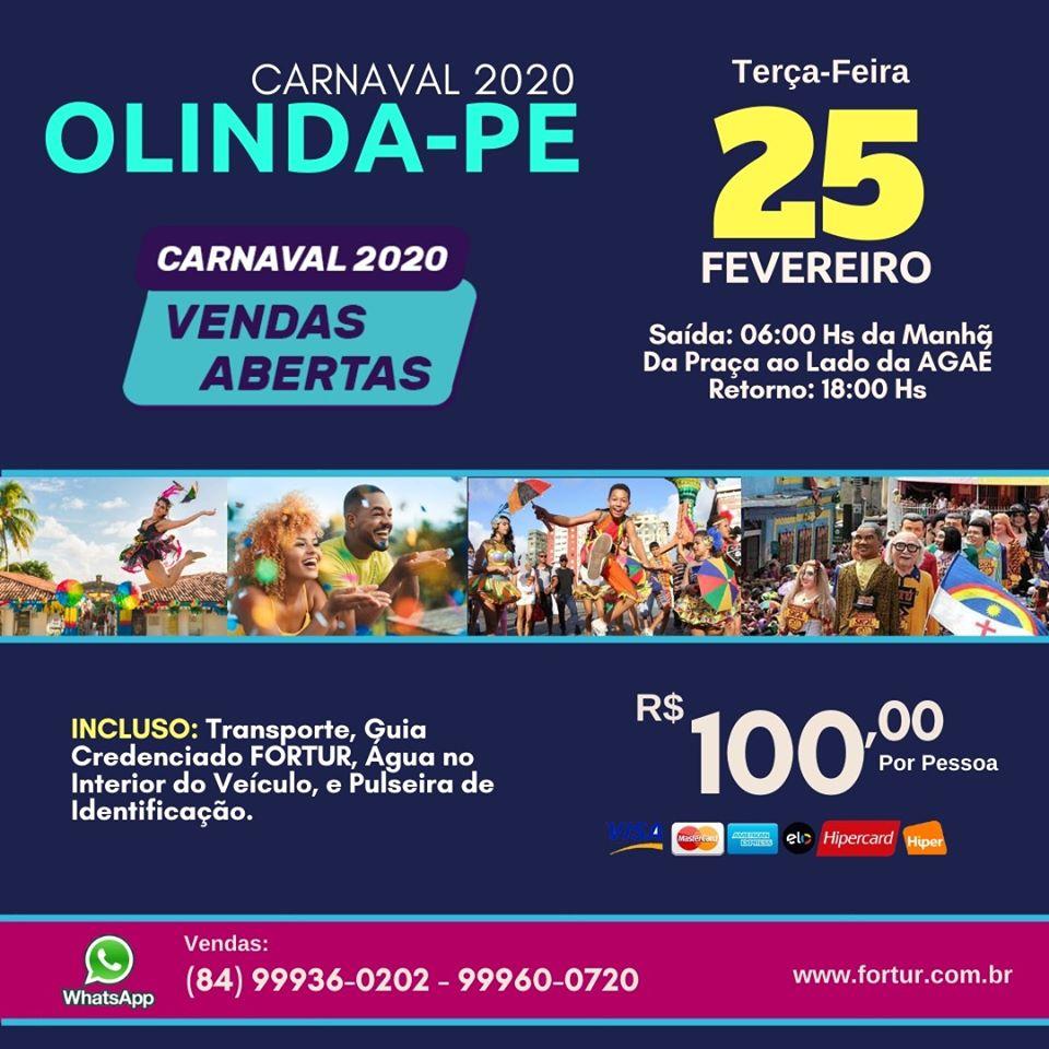 BATE VOLTA CARNAVAL DE OLINDA