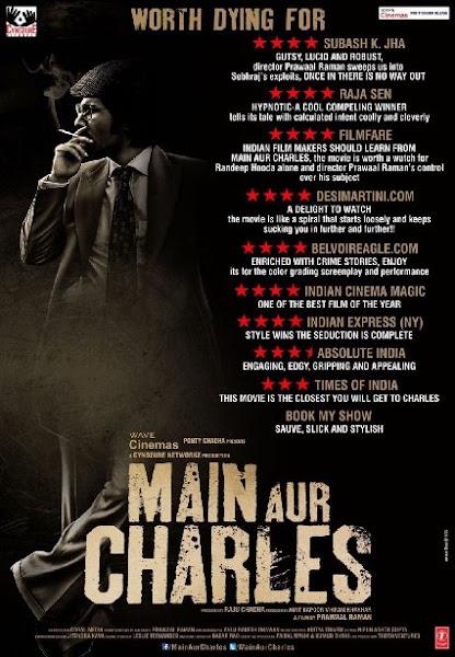 Poster Of Main Aur Charles 2015 720p Hindi HDRip Full Movie