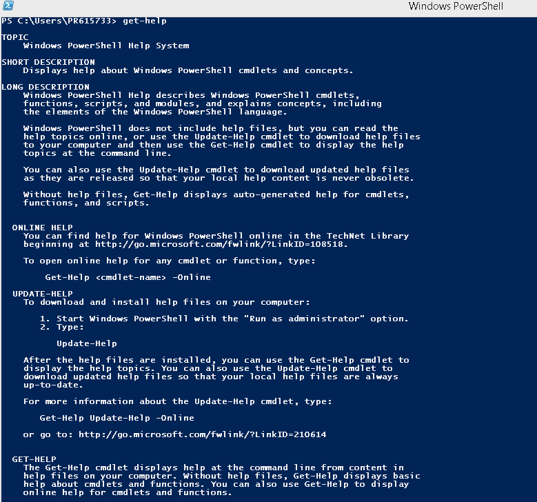 how to open powershell win+