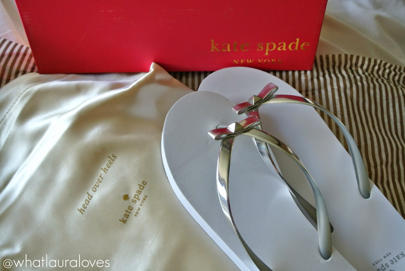 Kate Spade Happily Ever After Range wedding flip flops happily ever after