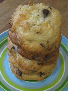 cookies de dos chocolates y nueces