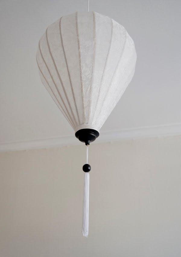 Fröken Piff Orientalisk lampa i sovrummet