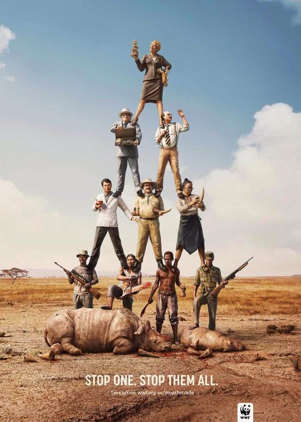 WWF: Anuncios contra la caza furtiva