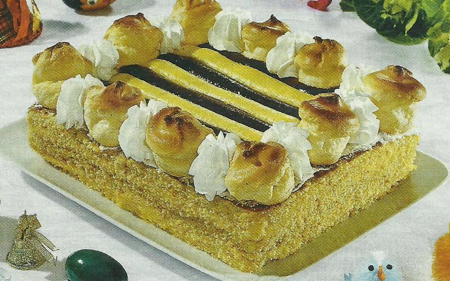 saint honorè torta che prende il proprio nome dal santo patrono dei pasticceri francesi.