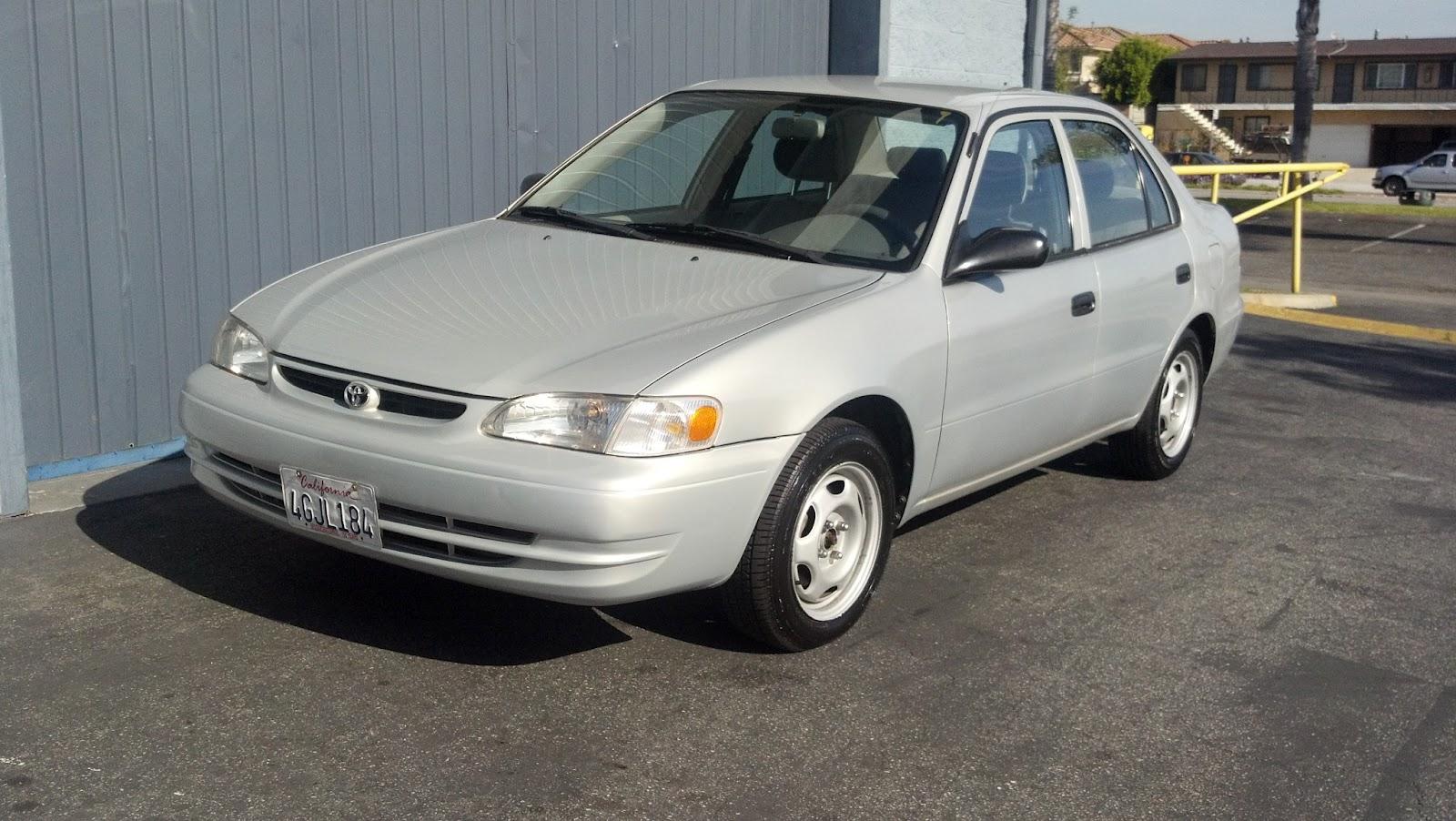 2000 Toyota  Corolla CE Silver  TTAK Auto Service
