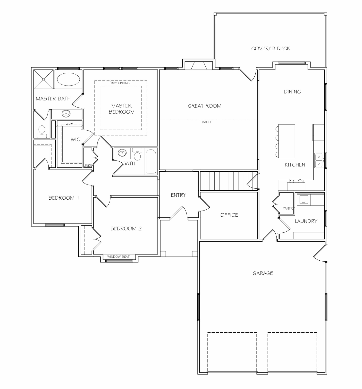 numbered street designs our floor plan not much of a change just the office and stairs moved a little after we had that we thought about it for a while and decided we didn t like how much the