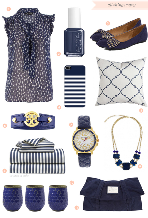 navy blue pieces