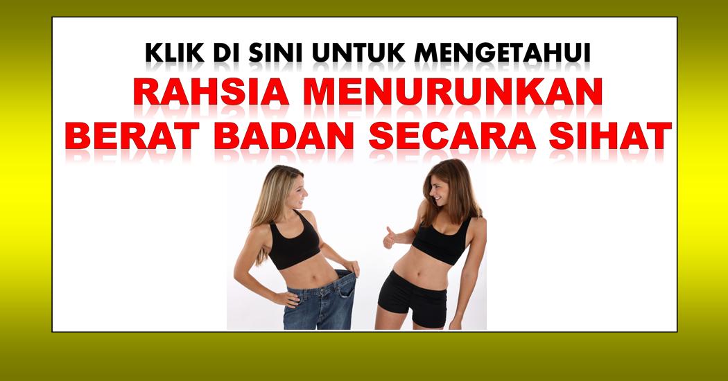 turunkan berat secara sihat