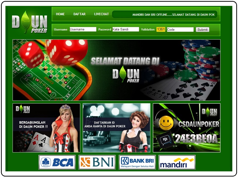 Daunpoker Poker - Klik Poker