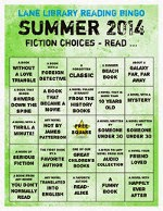 Summer Reading Fiction Card