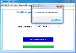 Meetme credits hack ios