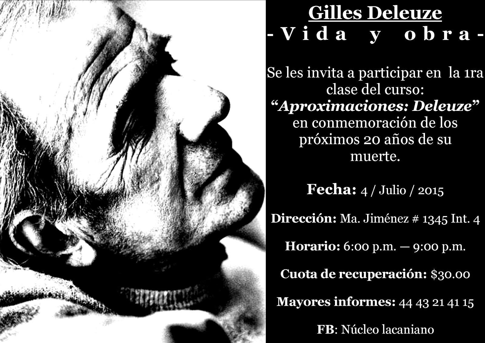 Gilles Deleuze. Vida y obra