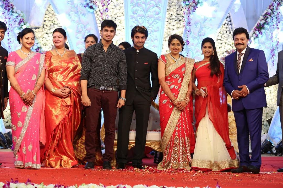 Aadi Aruna wedding reception photos-HQ-Photo-27