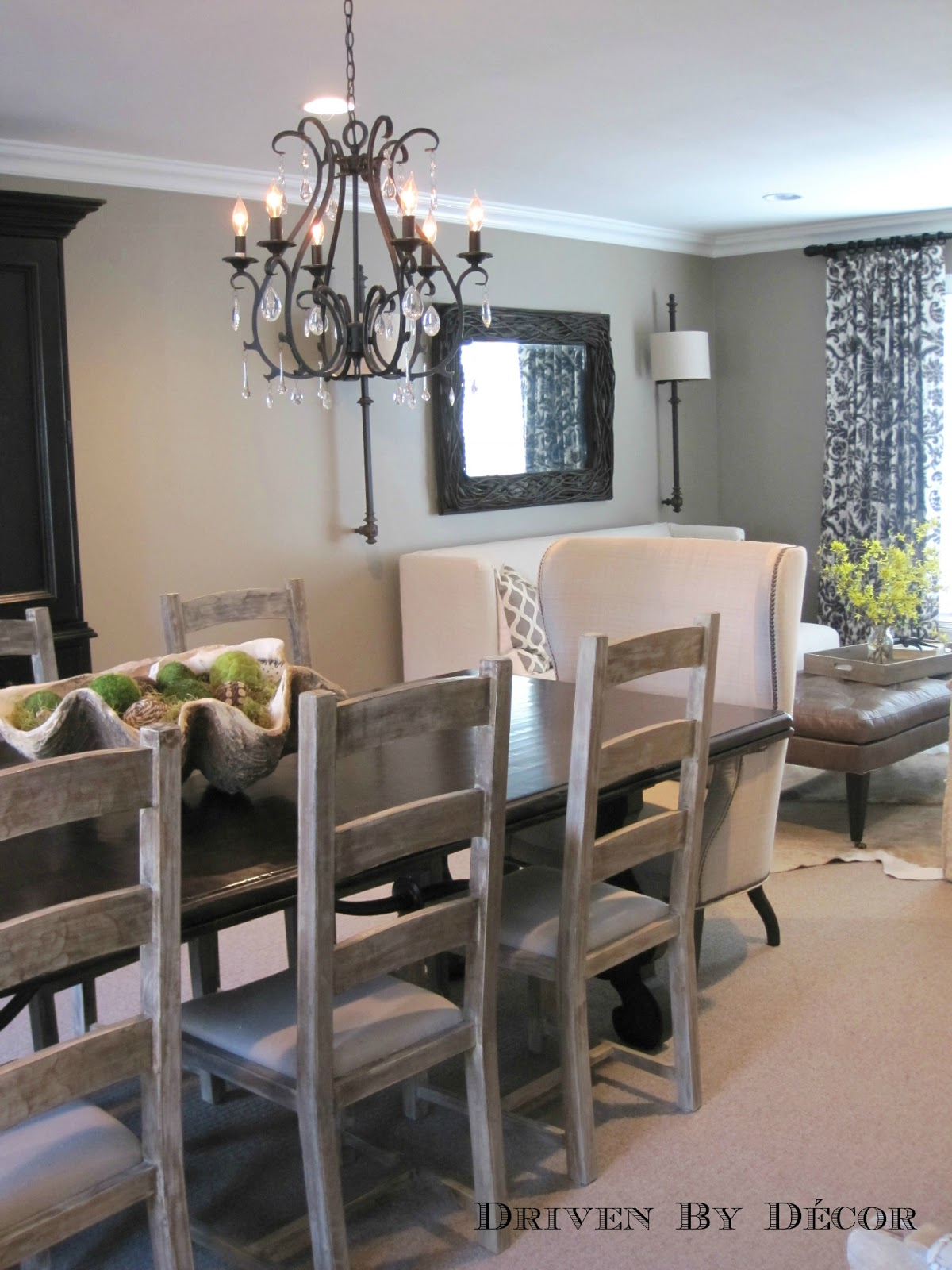 Different colored dining chairs - Dining Room Design Ideas Mixed Seating