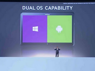 Samsung Unveiled New ATIV Q Tablet