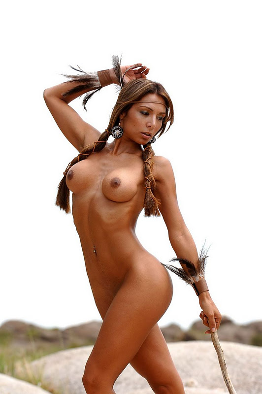 sexy poses native american girls