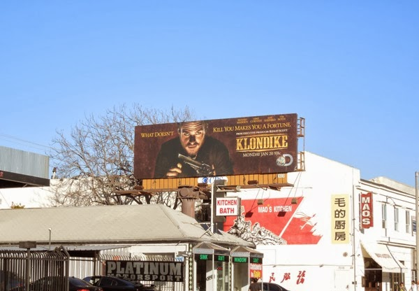 Klondike TV billboard