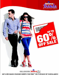 Clothing hyderabad offer reliance trends