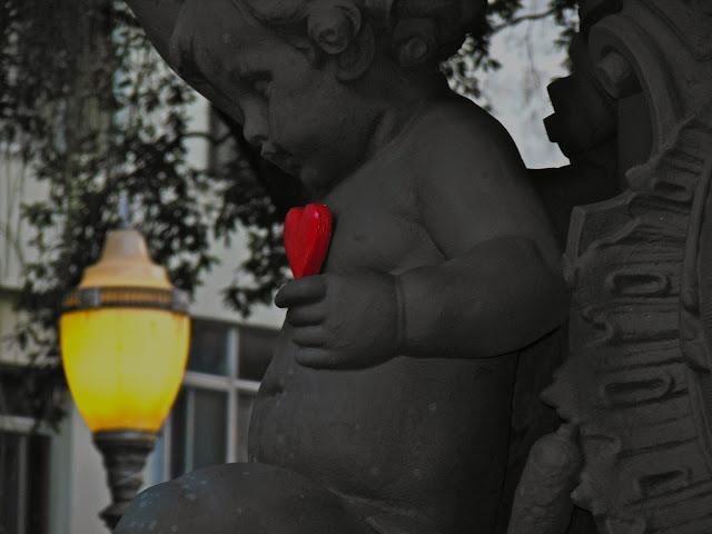 Estátua na Praça São Salvador, Rio/Foto: Marcelo Migliaccio