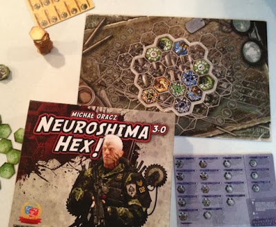 Neuroshima Hex 3.0 game in play