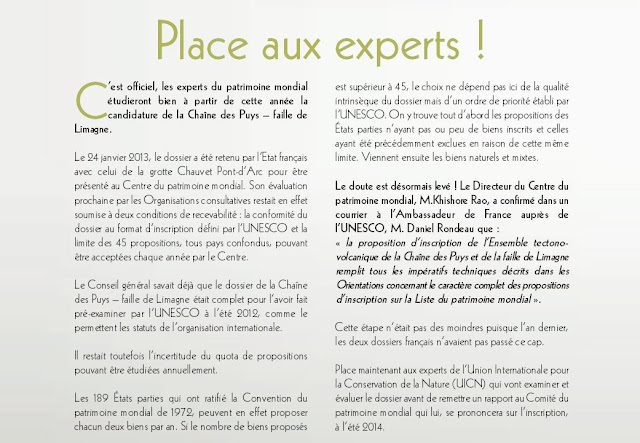 Puy de dôme et UNESCO