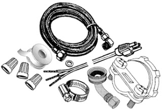 Dishwasher Installation Kit DWK-6572DW