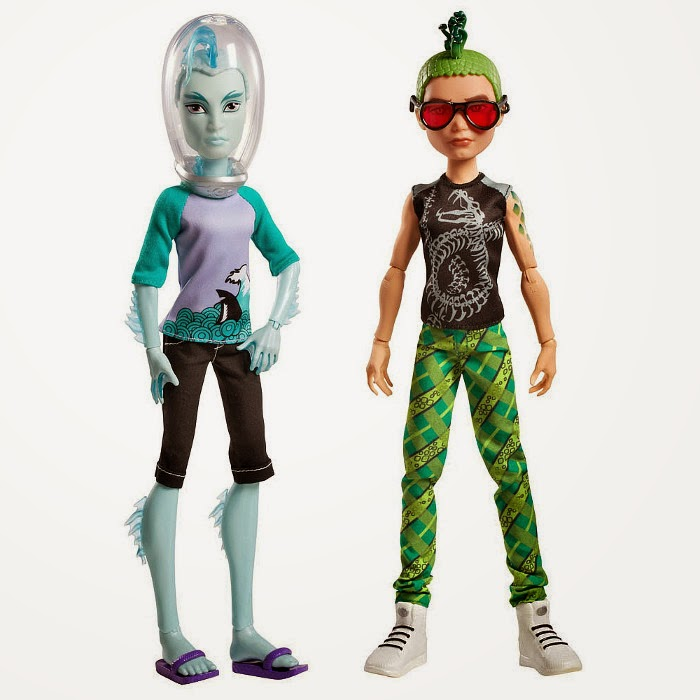 Toys monster high manster pack deuce gorgon gillington gil webber mu ecos juguetes - Monster high deuce ...