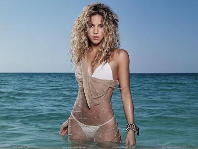 Shakira Bikini Wallpaper