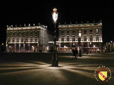 NANCY (54) - Place Stanislas by night 2013