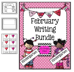 http://www.teacherspayteachers.com/Product/February-Writing-Bundle-Kindergarten-467591