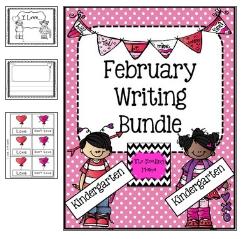 http://www.teacherspayteachers.com/Product/February-Writing-Bundle-Kindergarten-467591