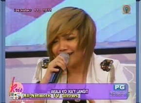 "PUSONG  BATO  ""LIVE""  (TAKE BY  CHARICE) !"