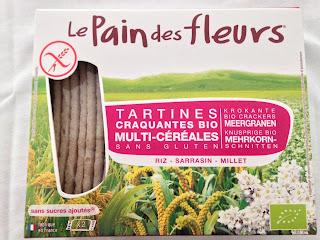 Tartines craquantes Multi-céréales - Le pain des fleurs