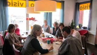Fotografia da sessão de trabalho, no Centro Regional