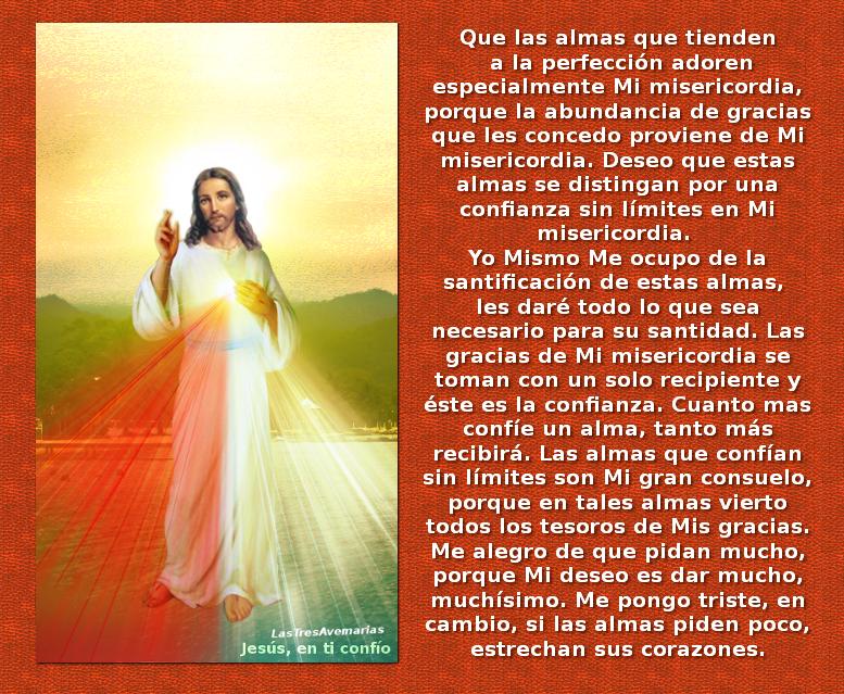 jeus misericordioso con importante mensaje a los que buscan la santidad