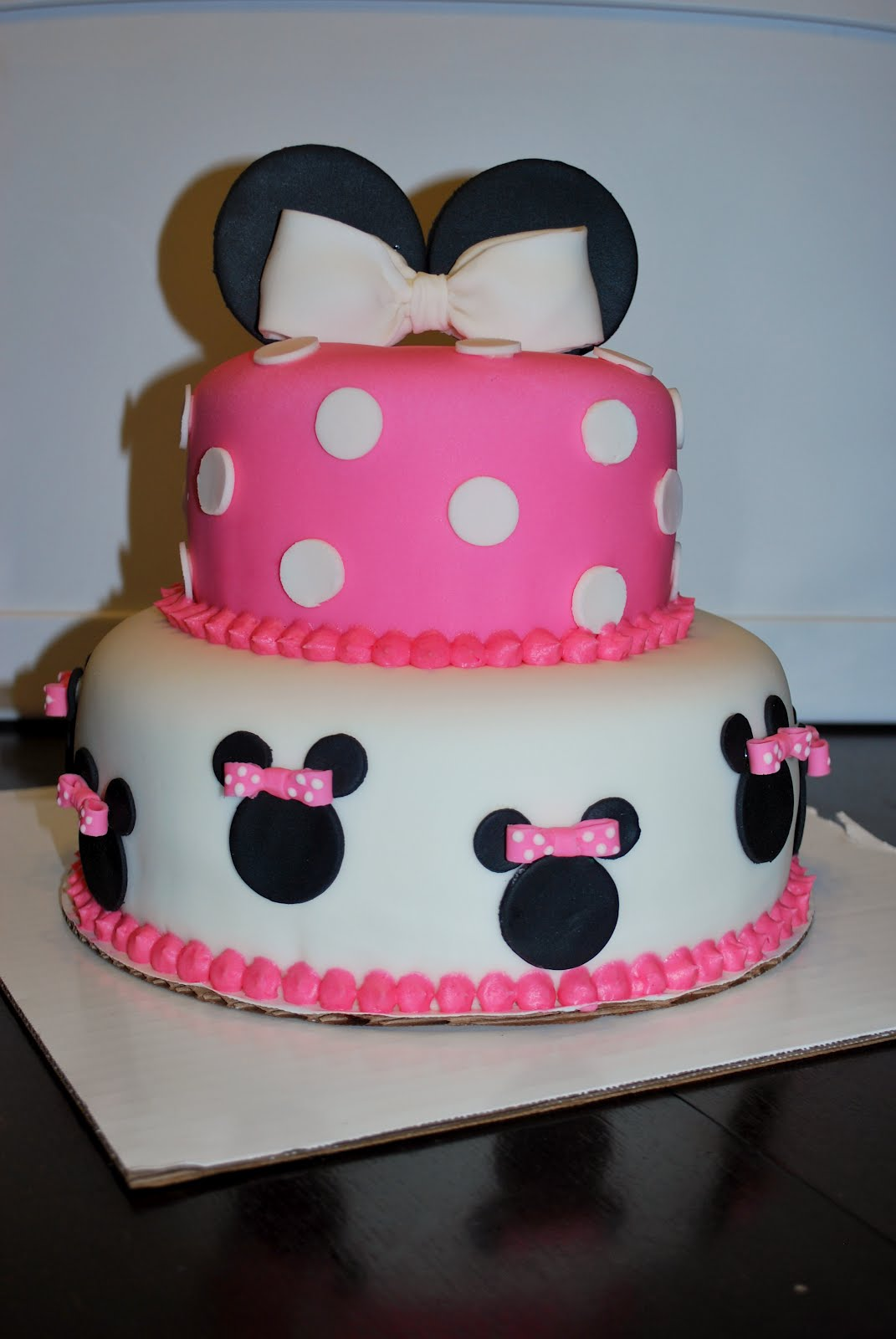Cake Design For 2 Year Old Baby Girl : Abby Cakes: Birthday Cakes for two very special little 2 ...